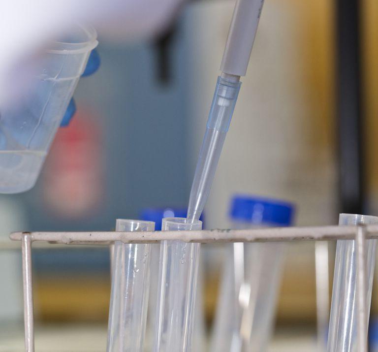 Investigación en un laboratorio de la Universidad de Alicante.