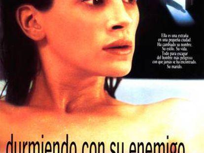 'Durmiendo con su enemigo' ('Sleeping with the enemy') 1991. Director Joseph Ruben.