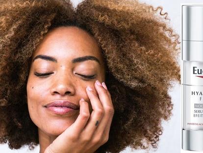 Este sérum facial Eucerin hidrata y rellena las líneas de expresión y arrugas profundas