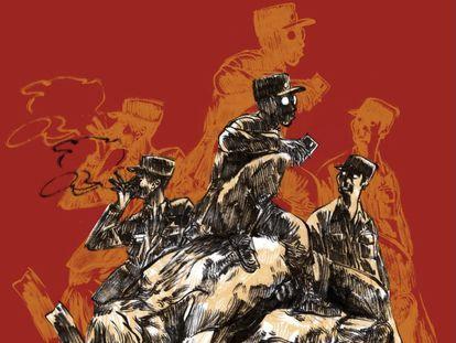 La portada del libro 'Seúl São Paulo', del escritor boliviano Gabriel Mamani Magne.