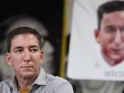 El periodista Glenn Greenwald, este martes en Río de Janeiro.