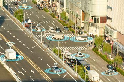 El nuevo concepto de la movilidad está basado en la conectividad permanente, con vehículos que hablen entre sí y con las infraestructuras.