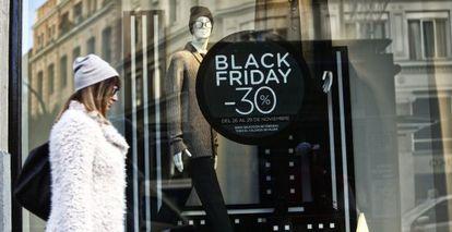 Black Friday, en Gran Via.