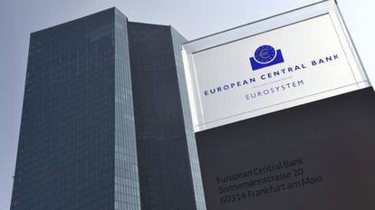 Sede de Fráncfort (Alemania) del Banco Central Europeo.