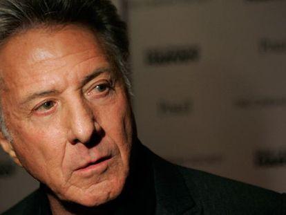El actor Dustin Hoffman
