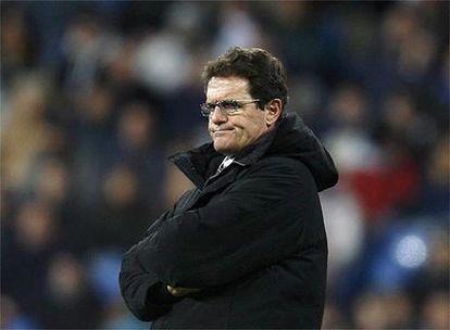 El entrenador Fabio Capello