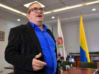 El líder del partido FARC, Rodrigo Londoño, 'Timochenko'.