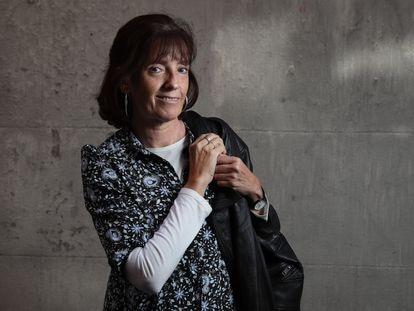 La historiadora María Tausiet, el miércoles 29 en Madrid.