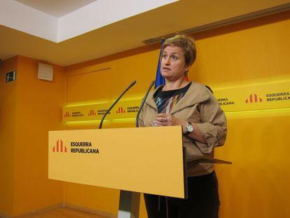La portavoz de ERC Anna Simó.