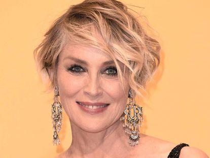Sharon Stone en una gala benéfica en Tennessee.
