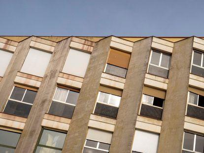 Piso en alquiler en La Barceloneta, en una foto de archivo.