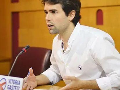 Iñaki García Calvo, en una imagen de su perfil de Twitter.