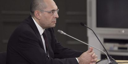El candidato a las europeas por Movimiento Red, Elpidio José Silva.