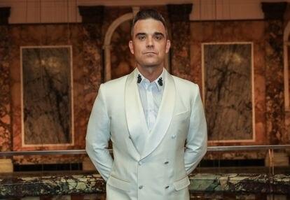 Robbie Williams asiste a la gala de premios de la revista británica 'Attitude', en octubre de 2016, en Londres.