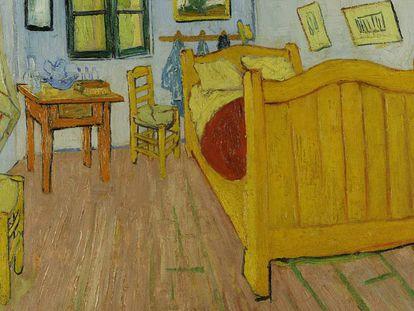 'El dormitorio en Arlés' inmortalizó la cama del artista.