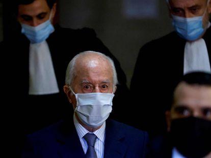 El ex primer ministro Edouard Balladur, en una vista judicial en París, el pasado 27 de enero.
