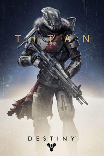 Uno de las clases que puede elegir el jugador en 'Destiny' para su guardián.