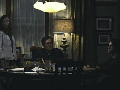 Toni Colette, Gabriel Byrne y Alex Wolff, tres de los protagonistas de 'Hereditary'.