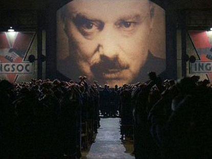Imagen de la película '1984', basada en la novela del escritor George Orwell.