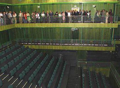 Uno de los espacios de los Teatros del Canal, ayer, durante la presentación.