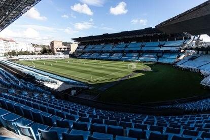 Balaídos, el estadio del Celta de Vigo, que, en la actualidad, tiene un contingente de alrededor de 120 personas para garantizar la seguridad durante los partidos.
