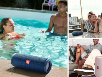 Ideal para llevar a la alberca, la playa o la ducha y con 12 horas de reproducción a volumen medio