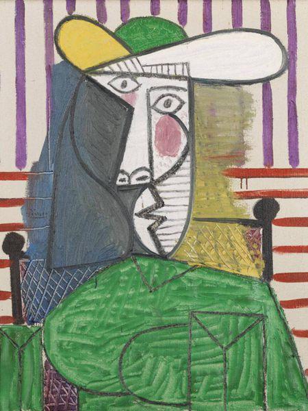 'Busto de una mujer', el cuadro de Pablo Picasso atacado en la Tate Modern londinense.