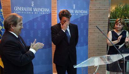 Los exconsejeros Luis Rosado, a la izquierda, y Manuel Cervera.