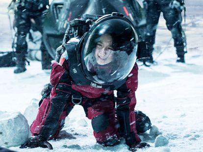 Una Imagen de la película 'La Tierra errante', dirigida por Frant Gwo.