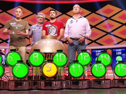 En vídeo, promoción de los especiales de '¡Boom!', de Antena 3, en los que los Lobos se enfrentarán a otros históricos campeones del concurso.
