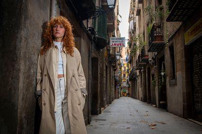 Sofia Fareleira, el miércoles en Barcelona.