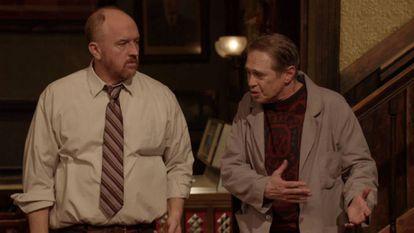 Louis C. K. y Steve Buscemi, en 'Horace y Pete'.
