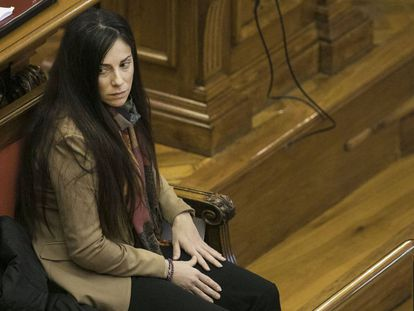 Rosa Peral, durante el juicio.