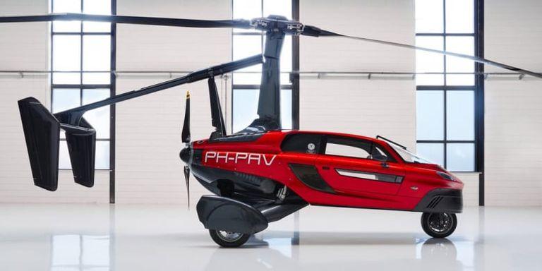 Imagen del coche volador de PAL-V Liberty.