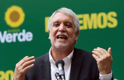 Enrique Peñalosa, candidato presidencial por la Alianza Verde.