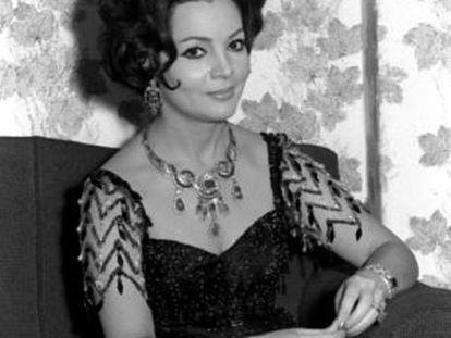 La actriz Sara Montiel, en 1964.