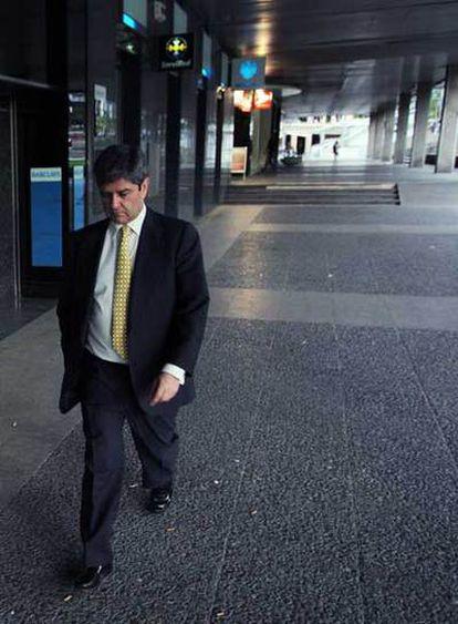 El presidente de Martinsa, Fernando Martín, al día siguiente de instar el concurso de acreedores.