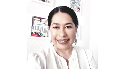 Muriel Salinas, coordinadora Estatal de la Red para el Avance Político de las Mujeres Guerrerenses