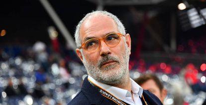 Andoni Zubizarreta, director deportivo del Olympique de Marsella.