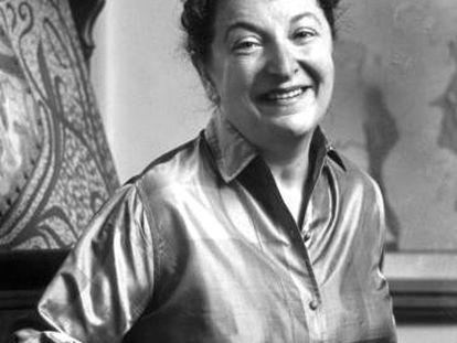 La crítica cinematográfica Pauline Kael, en una imagen de archivo.