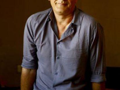Laurent Cantet, retratado en la redacción de EL PAÍS.