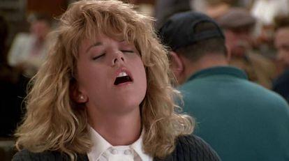 Meg Ryan en 'Cuando Harry encontró a Sally'.
