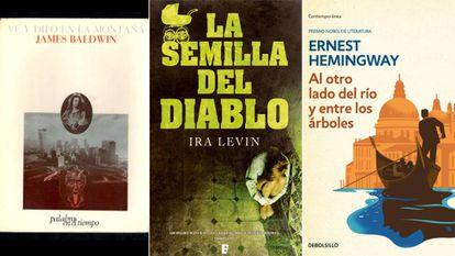 Algunos de las obras literarias que sufrieron la censura franquista.