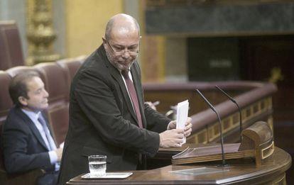 Francisco Igea, diputado de Ciudadanos.