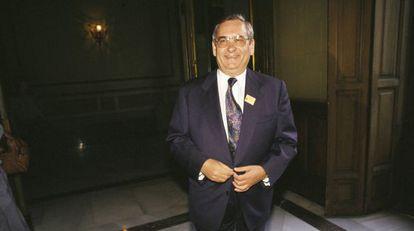 El extesorero del PP Ángel Sanchís en una foto sin datar.