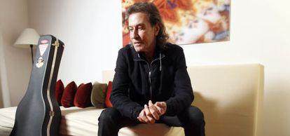 El cantante Albert Hammond, en Madrid en 2010.