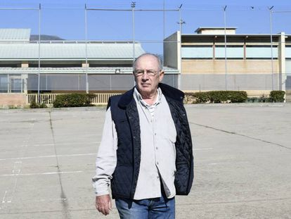 El exvicepresidente del Gobierno Rodrigo Rato a su llegada a la prisión madrileña de Soto del Real, en octubre de 2018.