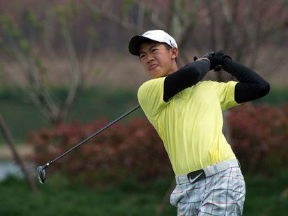 El golfista Ye Wo-cheng.