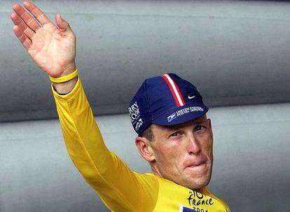 Lance Armstrong, en 2004