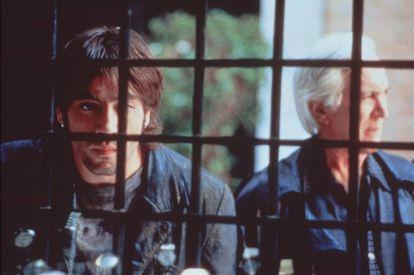Javier Bardem y Federico Luppi, en 'Éxtasis'.